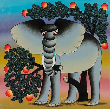 Elephant/Mango tree