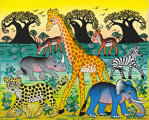 Animals / Baobab