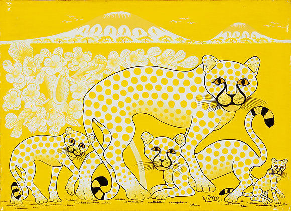 Cheetah family/Kilimanjaro