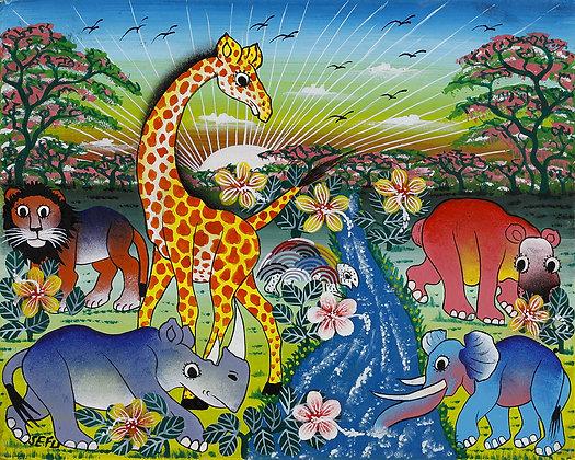 Animals/Flower