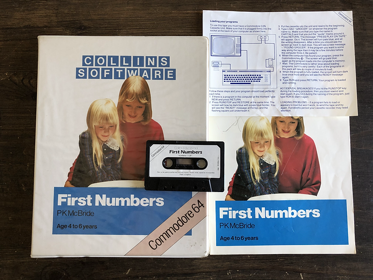 First Numbers - C64 Cassette