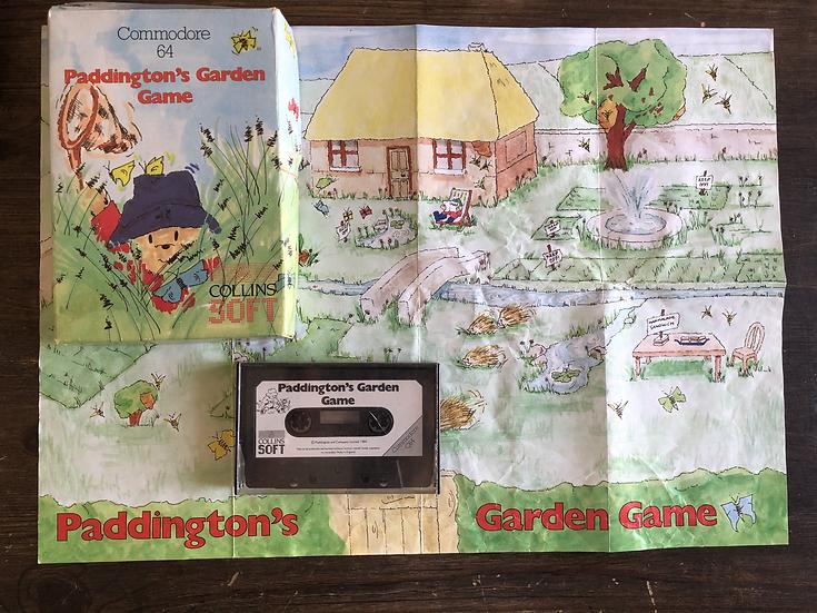 Paddington's Garden C64 Cassette