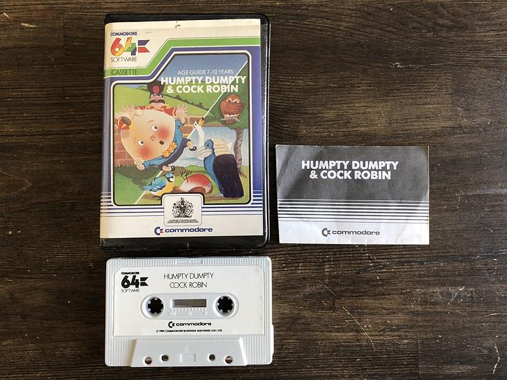 Humpty Dumpty C64 Cassette
