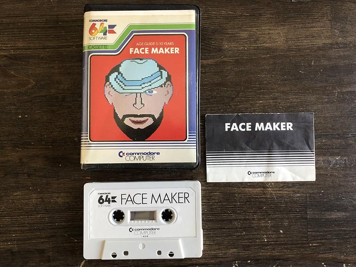 Face Maker C64 Cassette