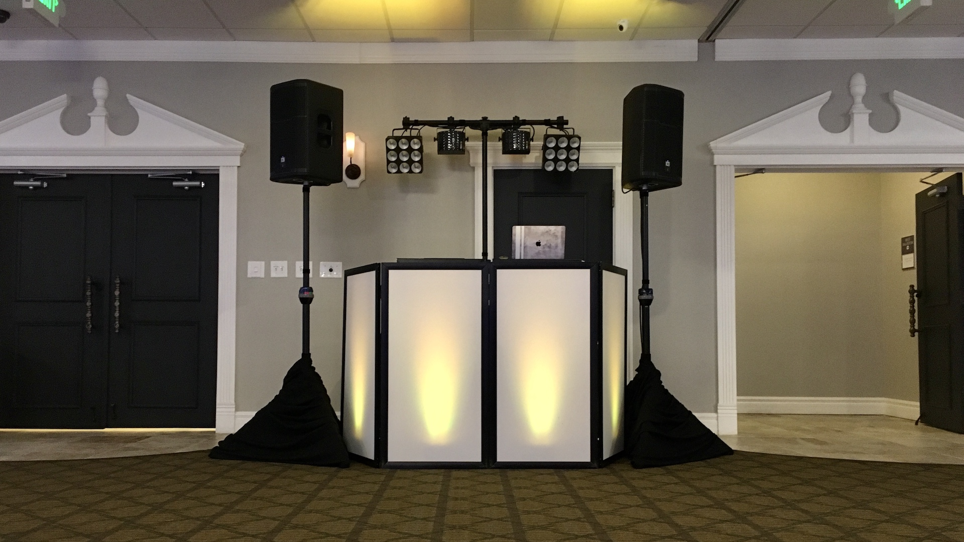 All-Star Music DJ setup