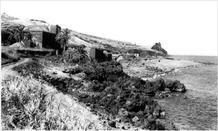 The small fort has been abandoned since it lost its primarily defensive function. (photo: Estúdio Perestrellos, 1970)