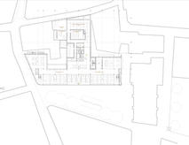 Library and Museum level plan.