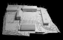 General view. Design study model. (photo: Laura Castro Caldas and Paulo Cintra)
