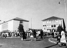 The Marquesa de Alorna school in 1961. (photo: Augusto de Jesus Fernandes, Lisbon Municipal Archive)