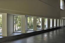 View of the windows of the new main atrium. (photo: Laura Castro Caldas and  Paulo Cintra)