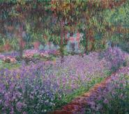 Le jardin de l'artiste à Giverny, Claude Monet (1900)