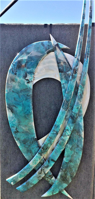 Swirling Turquoise
