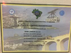 Título Campeão Pan-Americano