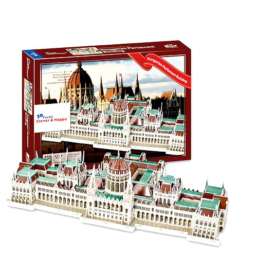 The Hungarian Parliament Building 3D Puzzle
