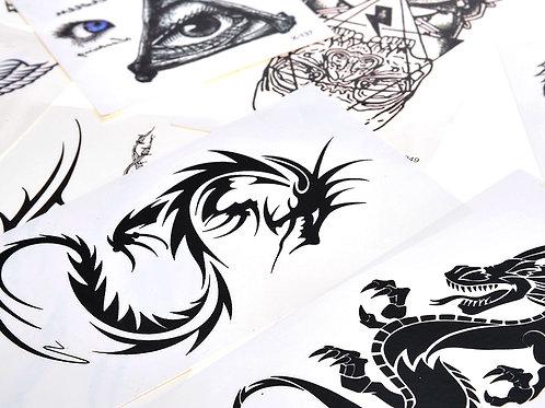 More Temporary Arm Tattoos
