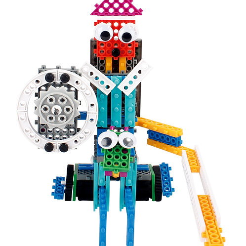 4 in 1 Remote Control Robot Building Kit