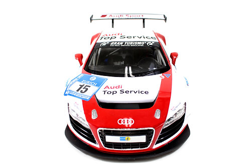 1:14 RC Audi R8 LMS Performance Model with LED Lights (Red)