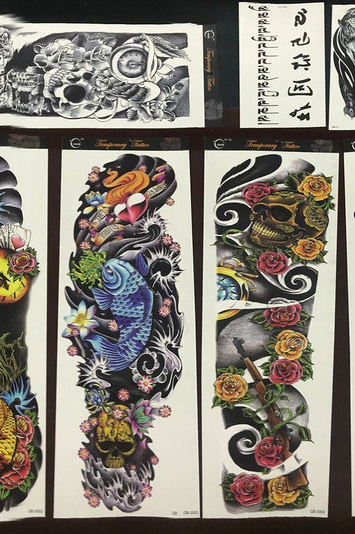 Temporary Tattoos Full Sleeve Men and Women