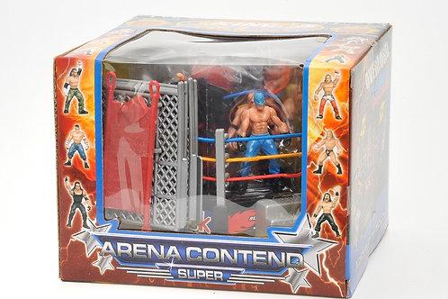 Little Wrestlers Rumbling Cage Set