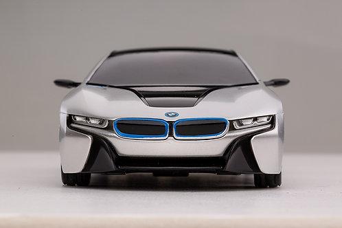 1:24 RC BMW i8 Concept RC Sports Car (Silver)