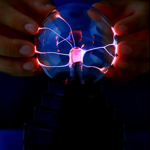 """3"""" Plasma Globe w/ Battery"""