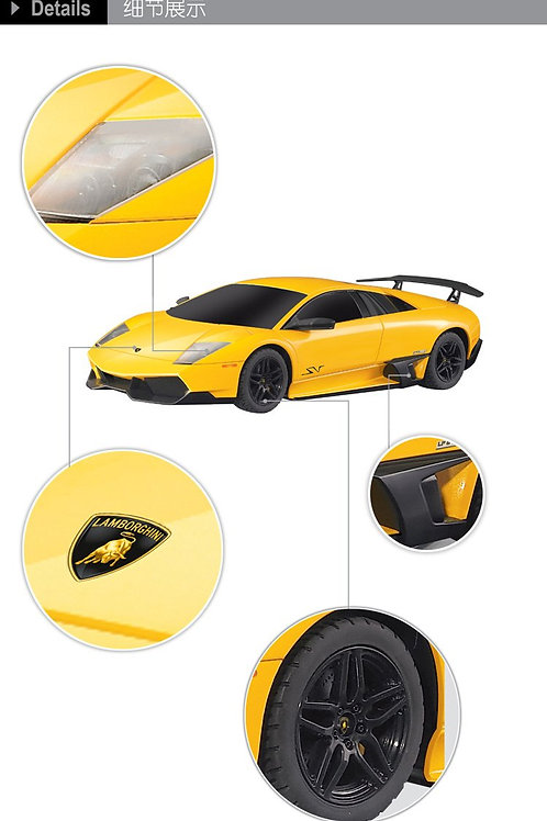 1:14 RC Lamborghini Murcielago (Yellow)