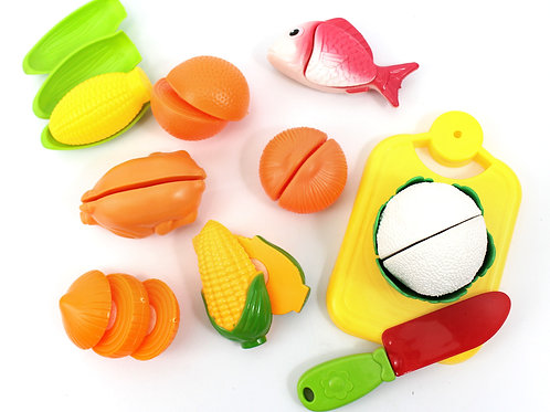 Cutting Board Play Food Play Set For Kids