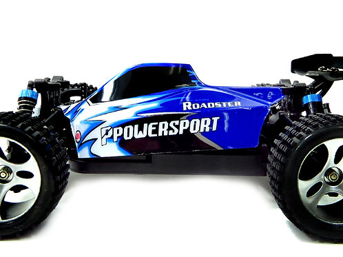 1:18 RC 2.4Gh 4WD Remote Control Off-Road Buggy (Blue)