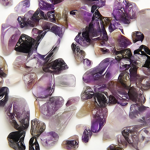Amethyst Tumbled Chips Stone (1 Pound)