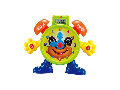 Electronic Learning Teach Time Clock Educational Toy for Kids