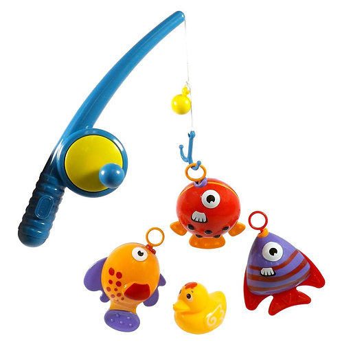 Hook And Reel Fishing Toy Playset