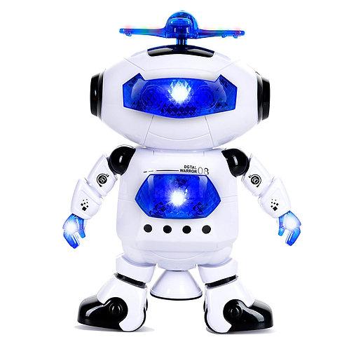 """10"""" Walking & Dancing RC Robot w/ Music"""