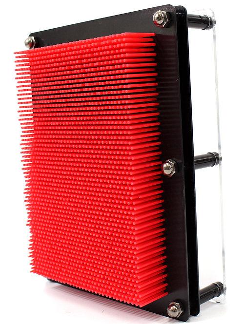 3D Pin Art Impression Board (Red)
