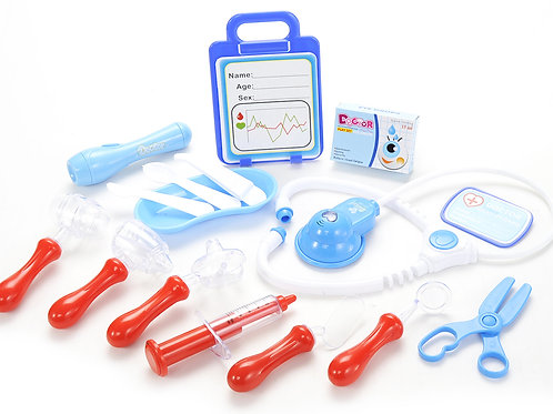 Medical Doctor Hospital Kit Playset