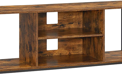 TV Standfor TVup to 50 Inch, TV Cabinet with Open Storage, TV Console Unit