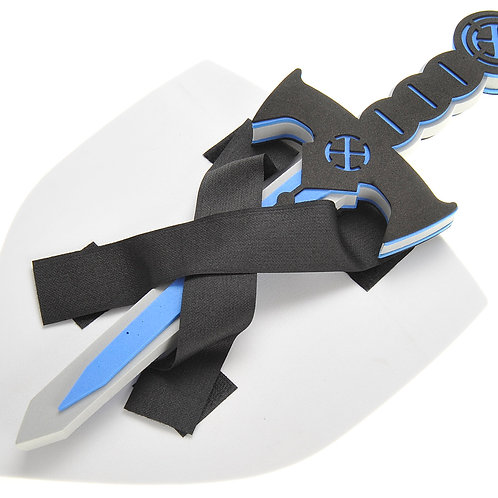 Foam Swords And Shields 2 Pack (Ninja Warrior)