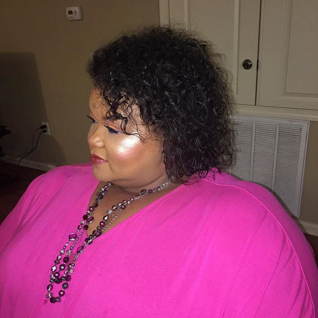 Come through highlighter! Island Girl highlighter worn by the wonderful Michelle! #highlighter #high