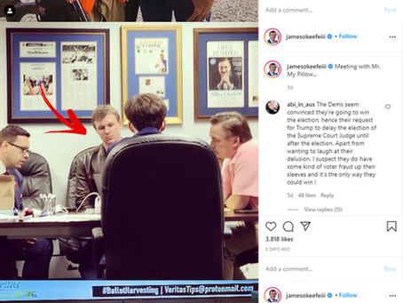 Is James O'Keefe a COVID Super Spreader?