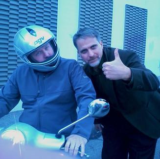 Dan Sandini (with Andrew Breitbart)
