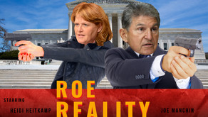 Heitkamp and Manchin Have Their Fingers on the Trigger