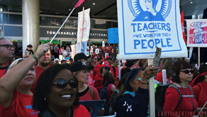 Could the LA Teacher Strike Help to End the Shutdown?