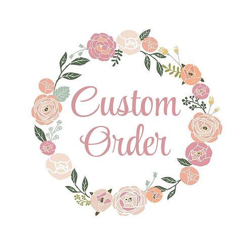 Custom Order - J. Hurt
