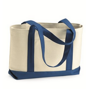 Natural Boater Tote