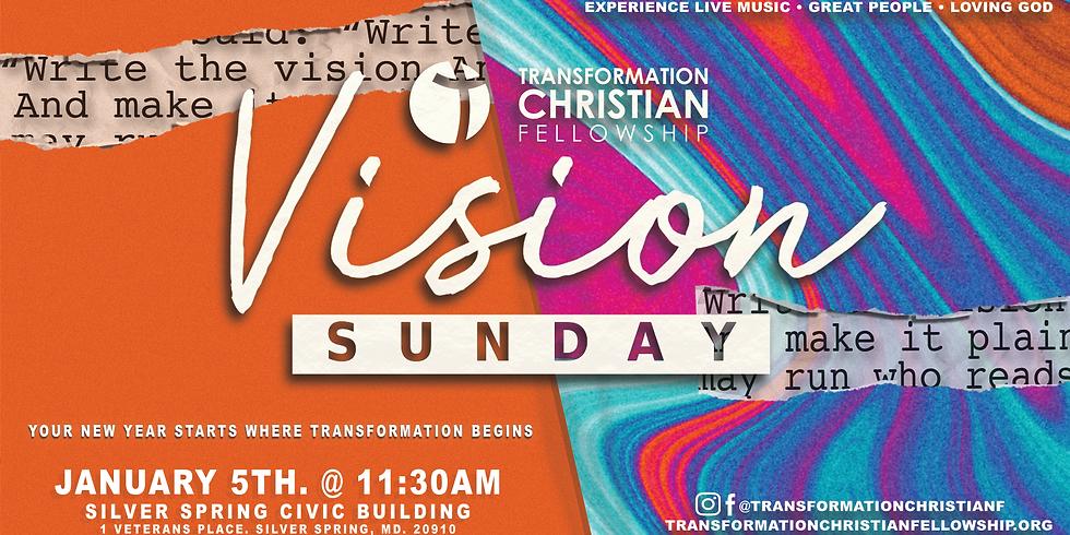 TCF Vision Sunday