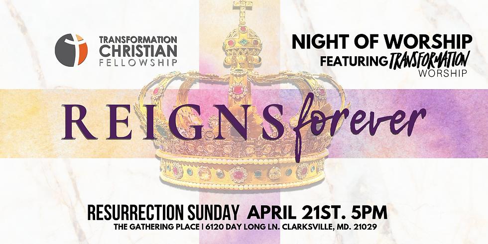 Resurrection Sunday Night of Worship