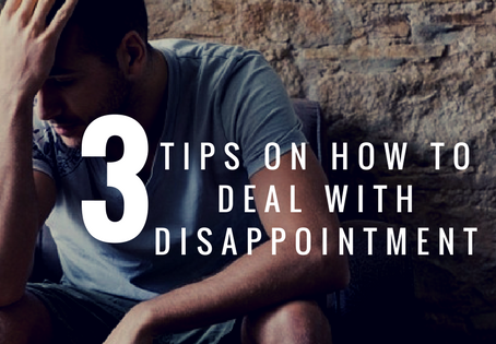 3 Tips On How To Deal With Disappointment | Pastor Brandon Hill