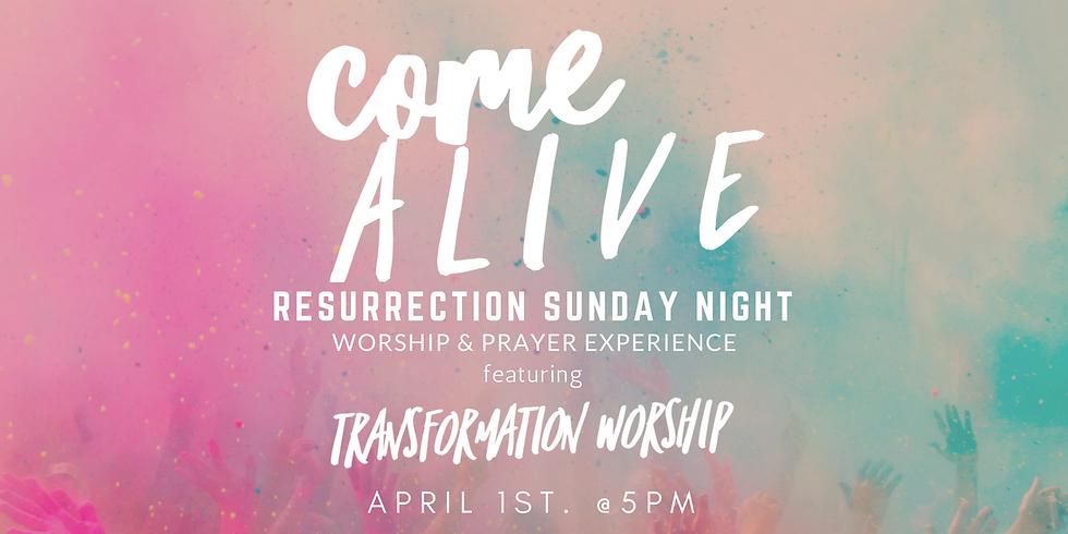 Resurrection Sunday Worship Night
