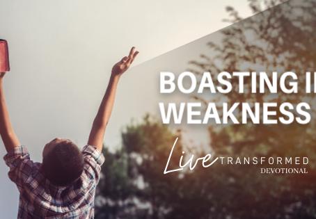 Boasting In Weakness