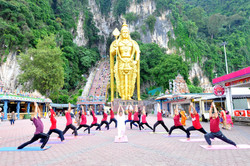 2_Curtain_Raiser_Event_at_Batu_Cave__Kuala_Lumpur_Malaysia