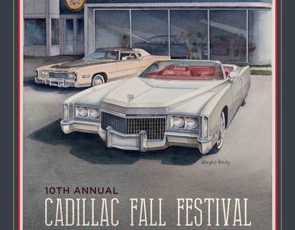 10th Annual Cadillac Fall Festival & Concours D'Elegance Commemorative Poster Available